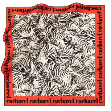 Cacharel Sutera Square Hijab Scarf No. 12 Silk Scarves Cacharel