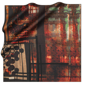 Cacharel Jenny Silk Foulard No. 12 Silk Scarves Cacharel