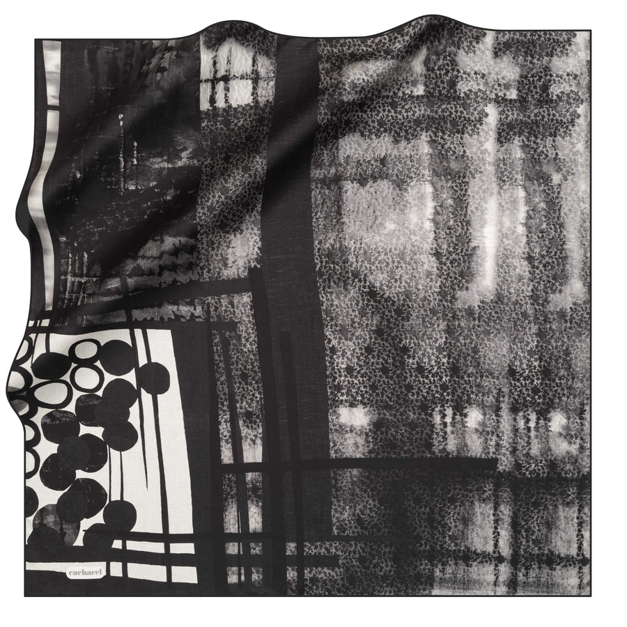 Cacharel Jenny Silk Foulard No. 14 Silk Scarves Cacharel
