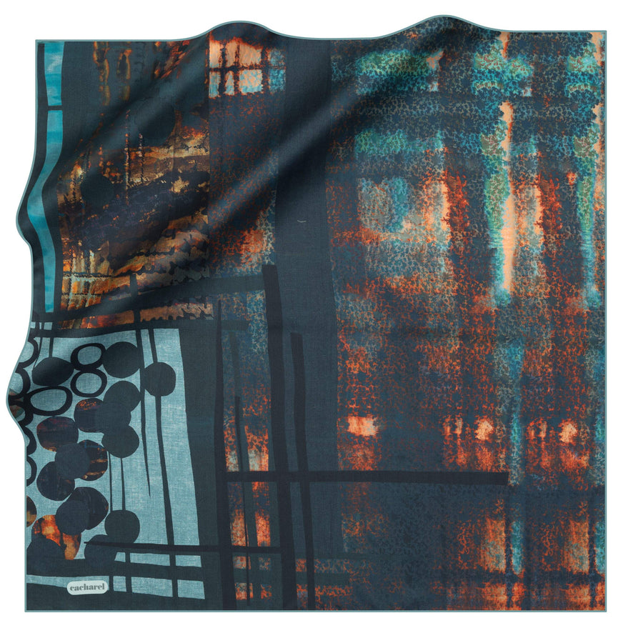 Cacharel Jenny Silk Foulard No. 51 Silk Scarves Cacharel