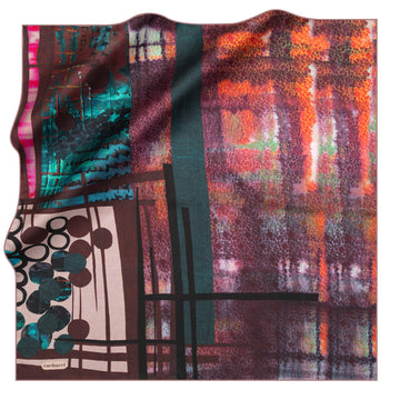 Cacharel Jenny Silk Foulard No. 91 Silk Scarves Cacharel