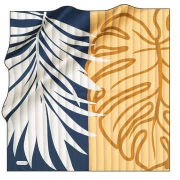 Cacharel Tropica Women Silk Foulard No. 11 Silk Scarves Cacharel