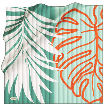 Cacharel Tropica Women Silk Foulard No. 51 Silk Scarves Cacharel
