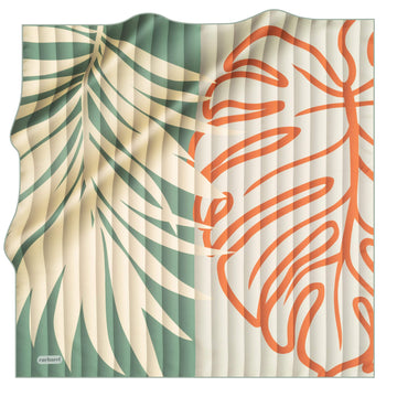 Cacharel Tropica Women Silk Foulard No. 52 Silk Scarves Cacharel