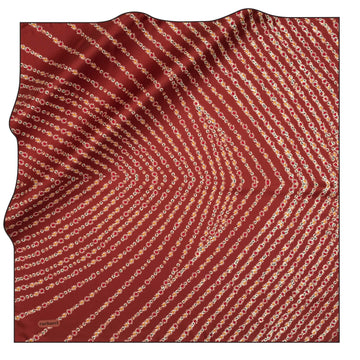 Cacharel Glamira Silk Twill Scarf No. 41 Silk Scarves Cacharel