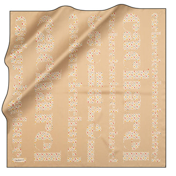 Cacharel Brand Silk Scarf No. 12 Silk Scarves Cacharel