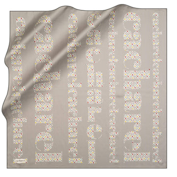 Cacharel Brand Silk Scarf No. 51 Silk Scarves Cacharel