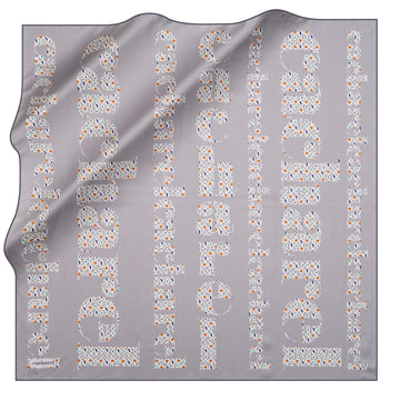 Cacharel Brand Silk Scarf No. 91 Silk Scarves Cacharel
