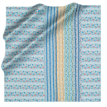 Cacharel Regatta Silk Twill Scarf No. 22 Silk Scarves Cacharel