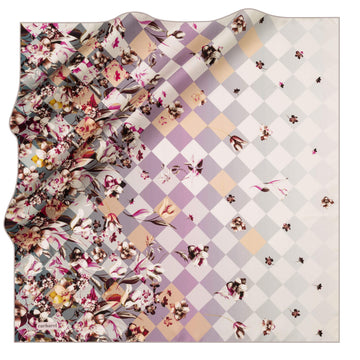 Cacharel Fiori Square Silk Scarf No. 71 Silk Scarves Cacharel