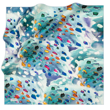 Cacharel Polka Silk Twill Scarf No. 21 Silk Scarves Cacharel