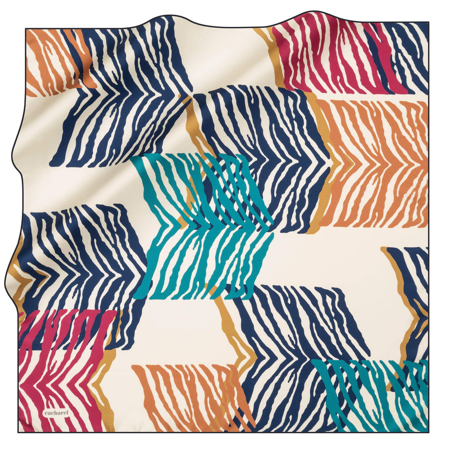 Cacharel Noa Square Silk Scarf No. 22 Silk Scarves Cacharel