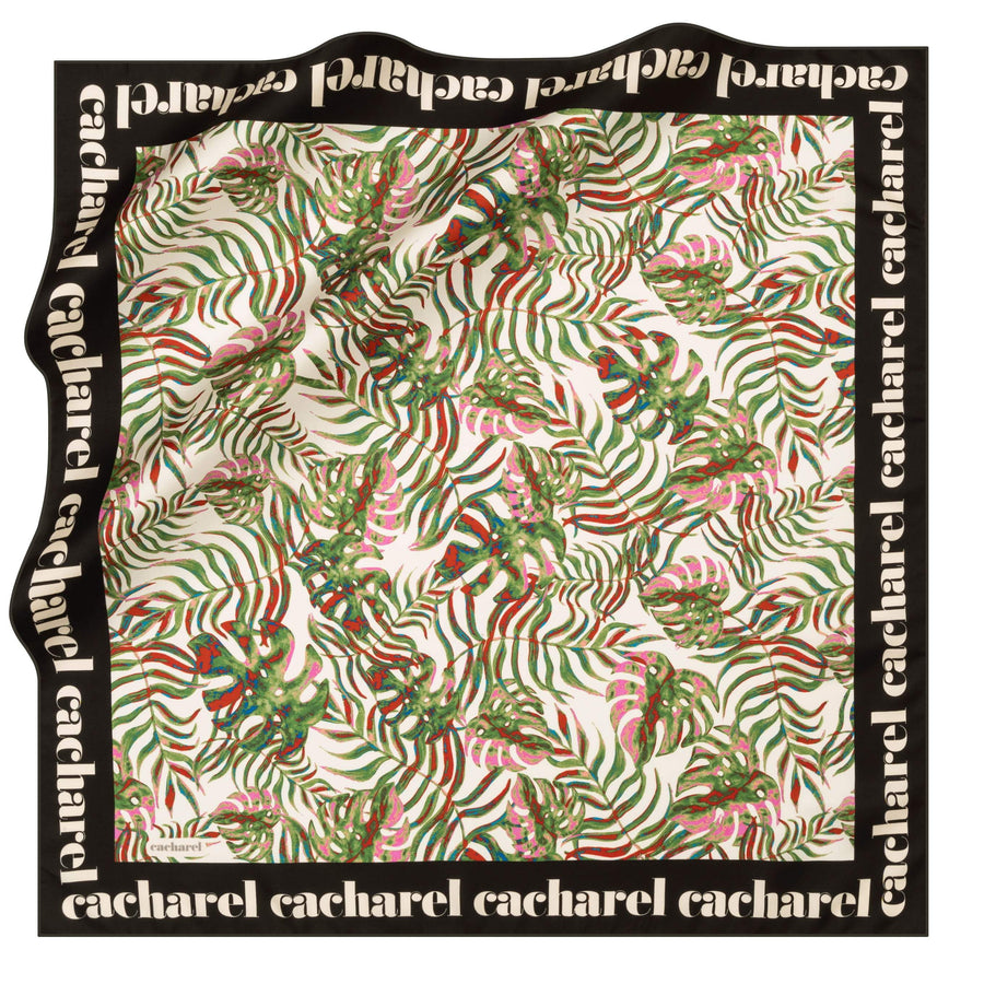 Cacharel Sutera Square Hijab Scarf No. 11 Silk Scarves Cacharel