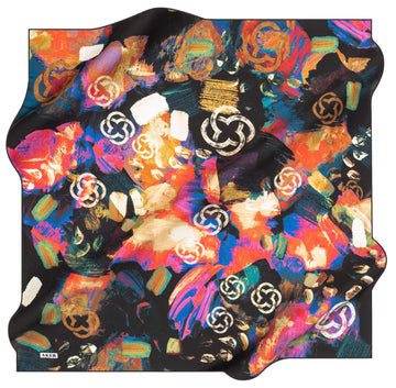 Aker Brand Turkish Silk Scarf No. 11 Aker,Silk Scarves Aker