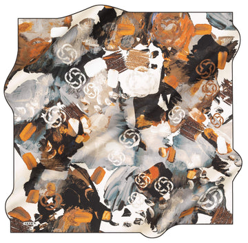 Aker Brand Turkish Silk Scarf No. 14 Aker,Silk Scarves Aker