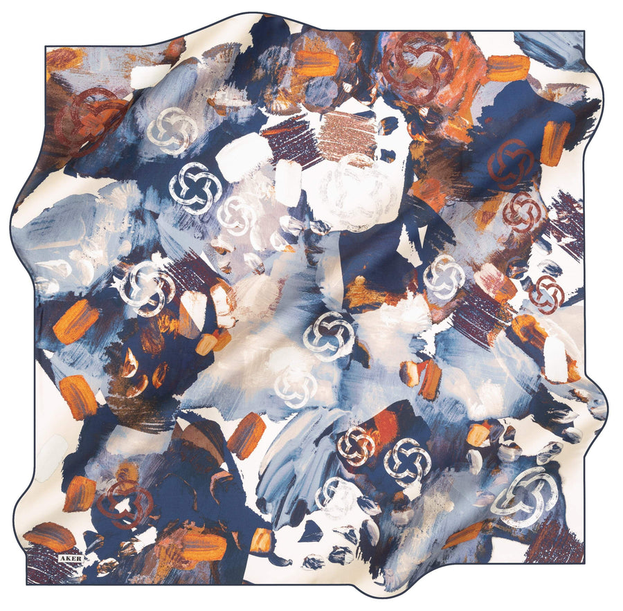 Aker Brand Turkish Silk Scarf No. 21 Aker,Silk Scarves Aker