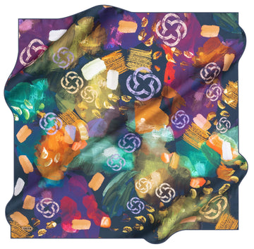 Aker Brand Turkish Silk Scarf No. 22 Aker,Silk Scarves Aker