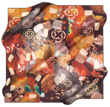 Aker Brand Turkish Silk Scarf No. 41 Aker,Silk Scarves Aker