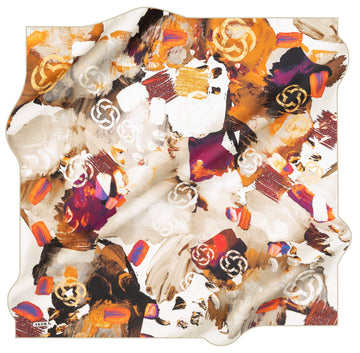 Aker Brand Turkish Silk Scarf No. 51 Aker,Silk Scarves Aker