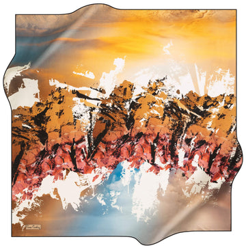 Pierre Cardin Stylish Silk Scarf No. 11 Pierre Cardin,Silk Scarves Pierre Cardin