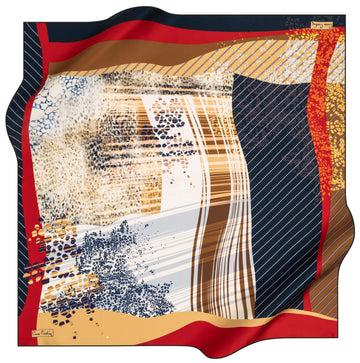 Pierre Cardin Fashion Turkish Silk Hair Wrap No. 21 Pierre Cardin,Silk Scarves Pierre Cardin