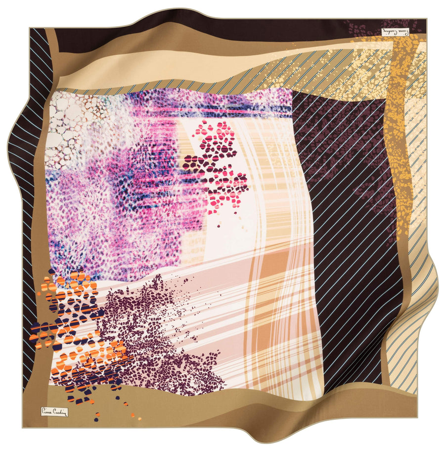 Pierre Cardin Fashion Turkish Silk Hair Wrap No. 51 Pierre Cardin,Silk Scarves Pierre Cardin