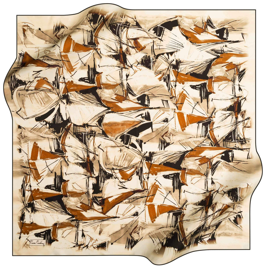 Pierre Cardin Luxury Foulard Weekender No. 11 Pierre Cardin,Silk Scarves Pierre Cardin