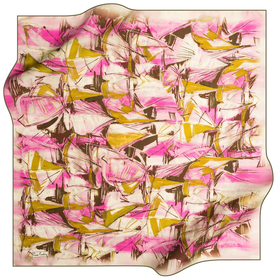 Pierre Cardin Luxury Foulard Weekender No. 53 Pierre Cardin,Silk Scarves Pierre Cardin