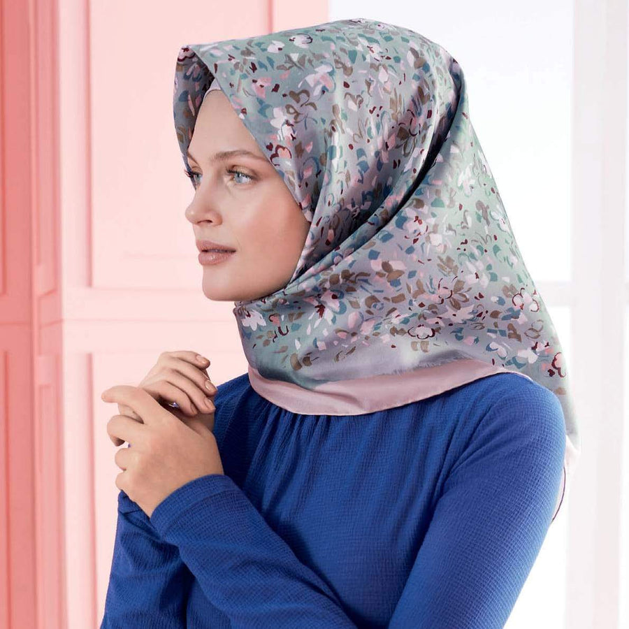 Armine : Annaj Stylish Beautiful Silk Head Scarf Silk Hijabs,Armine Armine