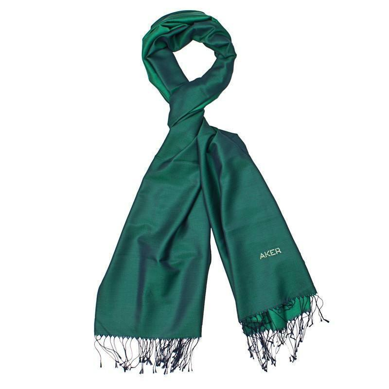 Aker Beautiful Dark Green Womens Shawl