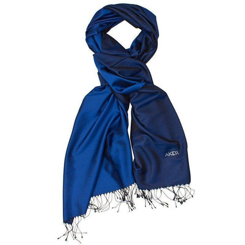 Aker Stylish Navy Blue Shawl for Women