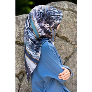 Vissona Cleo Turkish Silk Scarf No. 20I Silk Hijabs Vissona
