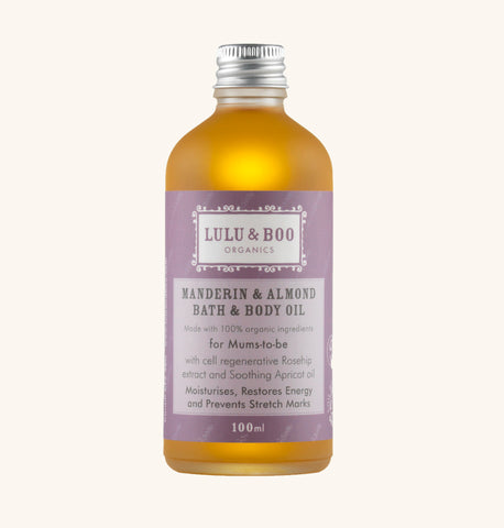 Mandarin & Almond Bath & Body Oil