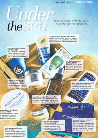 Seaweed Purifying Mask in Natural Health Magazine