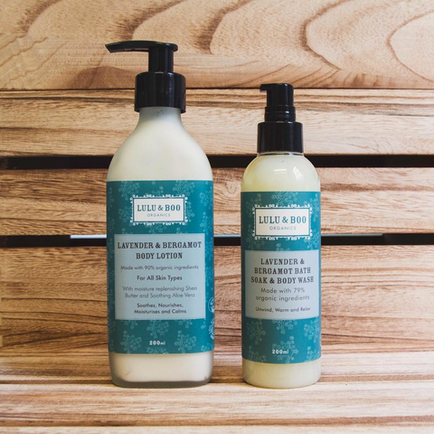 Lavender & Bergamot Body Lotion & Bath Soak