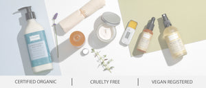 Organic, vegan and cruelty free skincare
