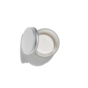 Almond & Rosehip Face Cream Lid Open Image