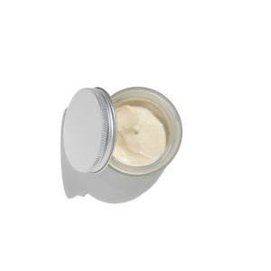 Safflower & Nettle Face Cream Open Jar