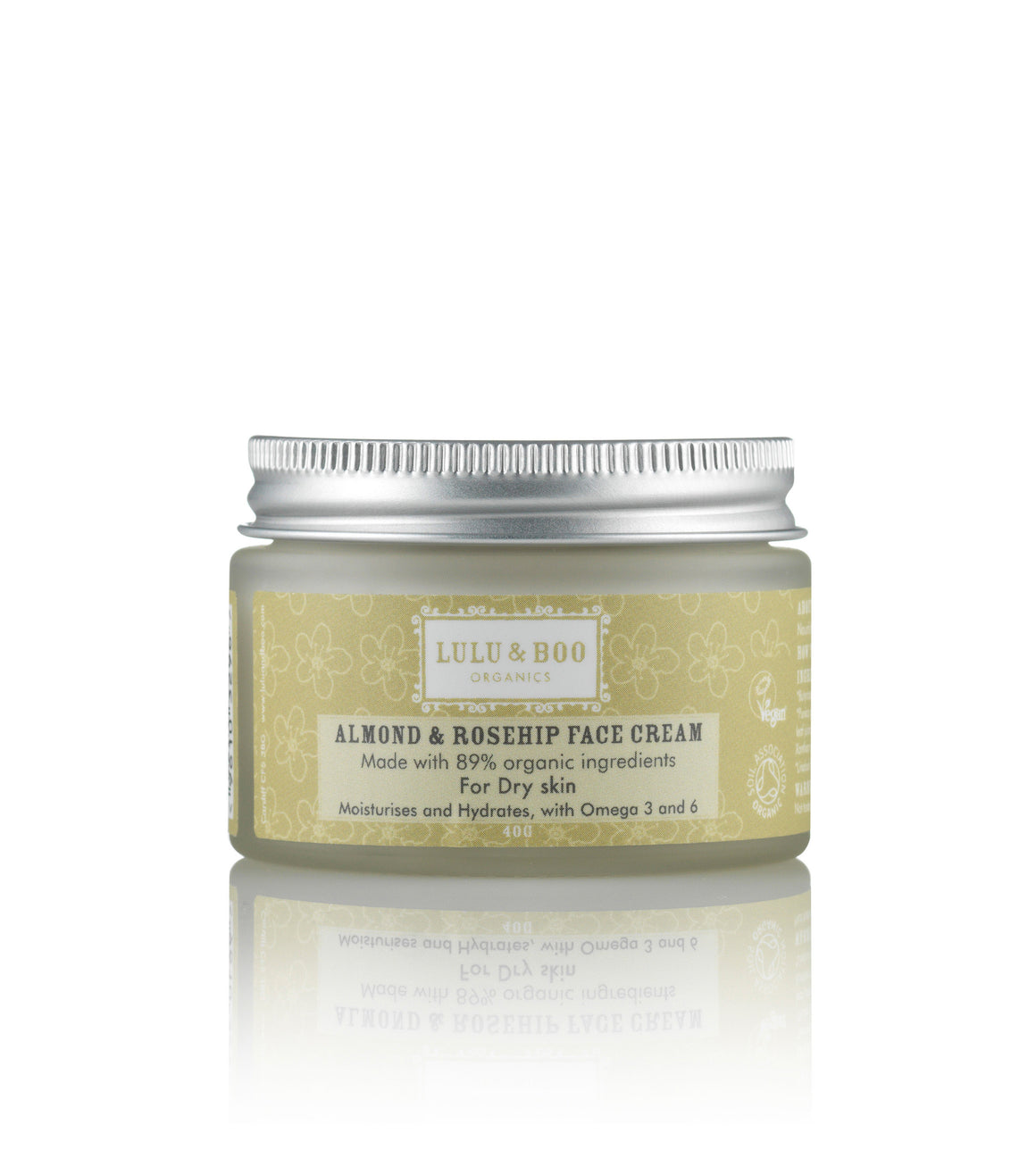 Almond & Rosehip Face Cream Image