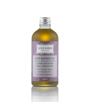 Organic Baby Massage Oil