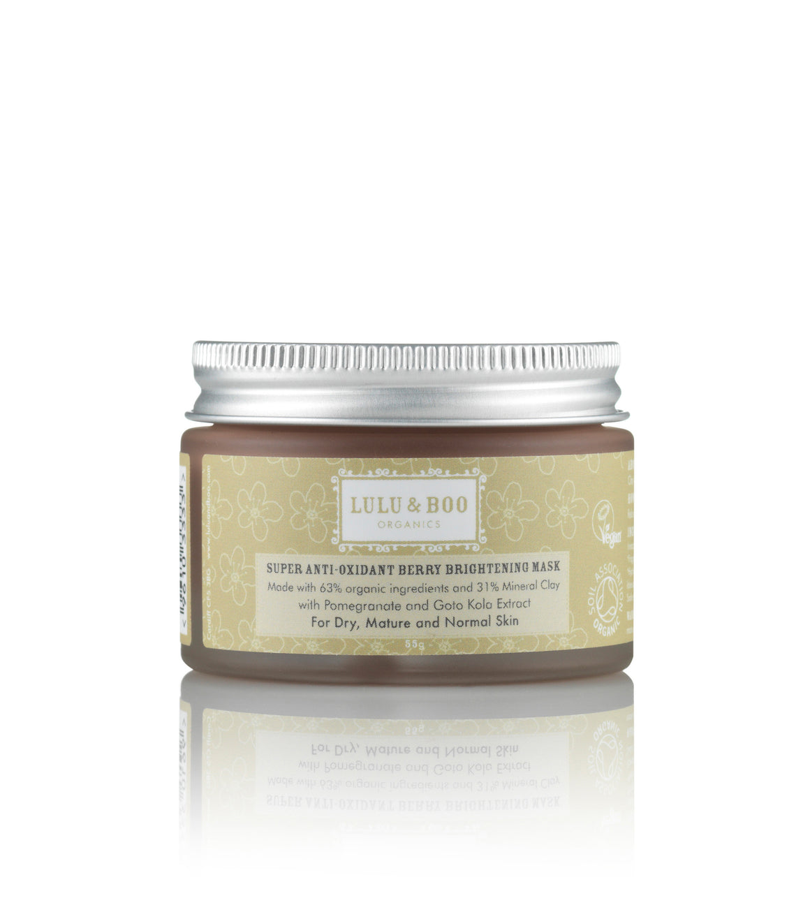 Super Anti-Oxidant Berry Brightening Mask - Lulu & Boo Organics