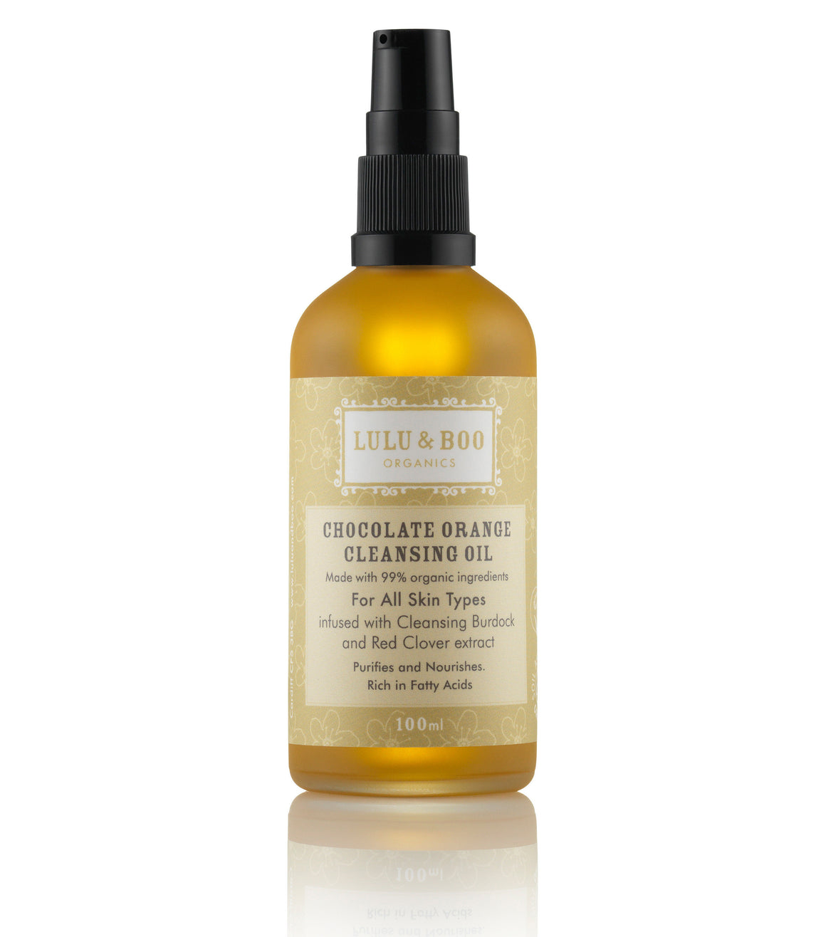 Chocolate Orange Cleansing Oil - Lulu & Boo Organics