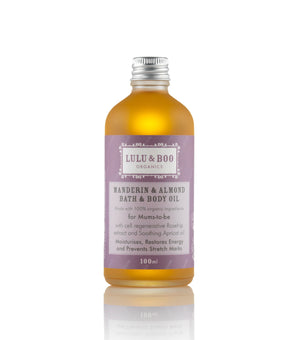 Mandarin & Almond Relaxing Organic Bath Oil