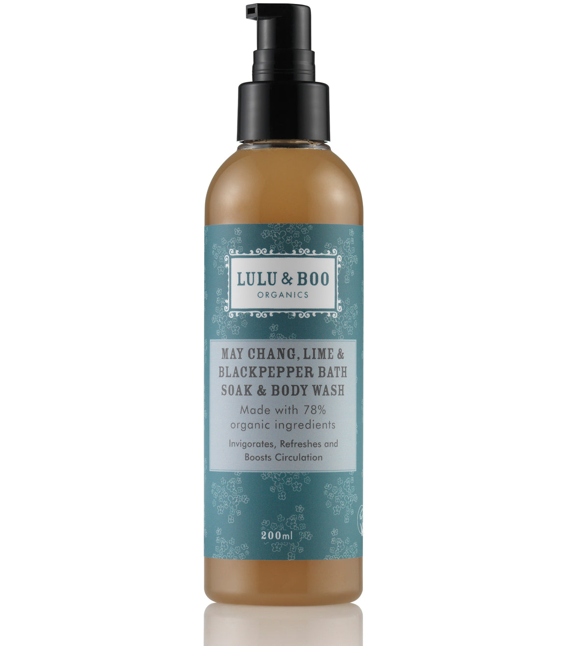 May Chang, Lime & Blackpepper Bath Soak & Body Wash - Lulu & Boo Organics