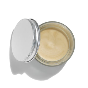 Melissa & Mallow Foot Balm Open Jar