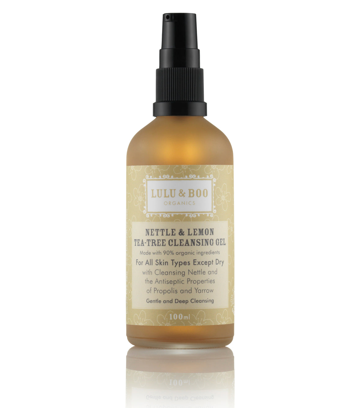 Nettle & Lemon Tea-Tree Cleansing Gel - Lulu & Boo Organics