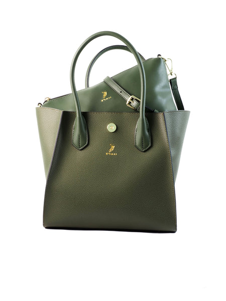Polo Haus 2 in 1 Handbag (GREEN)