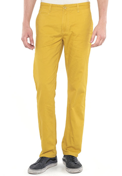 Polo Haus - Straight Cut Long Pant (Yellow)