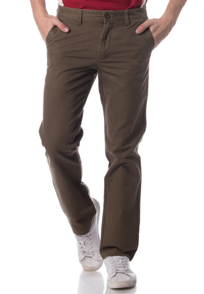 Polo Haus - Cotton Long Pant  (Brown)