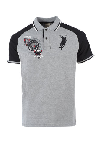 Polo Haus - Boxing Range - The Fighter King Of The Ring (Grey)
